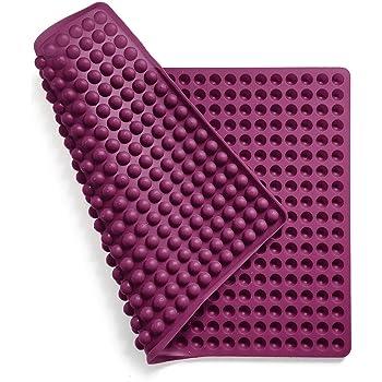 Collory Silikon Backmatte mit Noppen | Backblech Dauerbackunterlage | Hitzebeständig 240°C | 40x28cm | Lebensmittelecht (BPA-frei) | Backform Hundekekse Hundeleckerlies | Pralinenform | Antihaftend