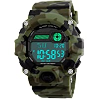 Orologi digitali per bambini, ragazzi sportivi Orologi militari con sveglia/timer, Bambini ragazzo 5 orologi…