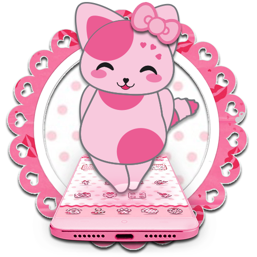 Cute Pink Kitten Blush Rose Theme - Kostenlose Blush