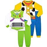 Disney Boys Pyjamas 2 Pack Toy Story Buzz and Woody