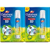 Odomos Mosquito Repellant Fabric Roll on -8ml (Buy 1 Get 1 Free)