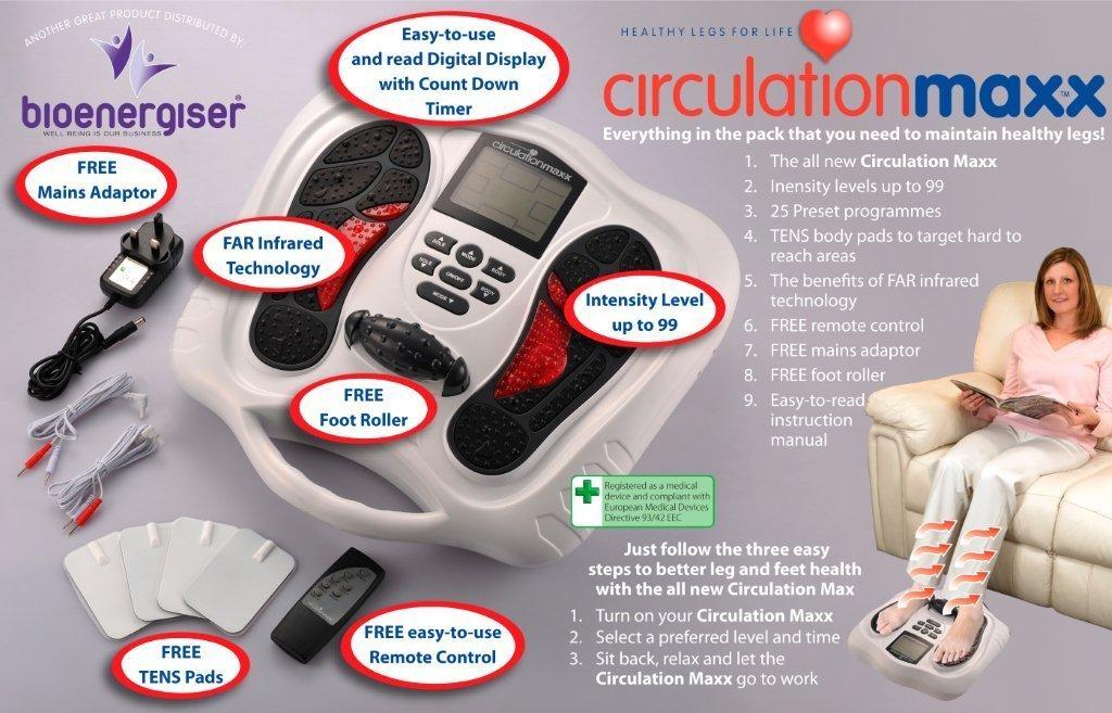 Circulation Blood Booster Reflexology Circulation maxx