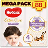 Huggies Extra Care onderbroek maat 4 (9-14 kg), 88 stuks