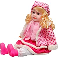 HEET Cute Musical Rhyming Babydoll,Big Stroller Dolls, Laughing and Singing Soft Push Stuffed Talking Doll Baby Girl Toy…