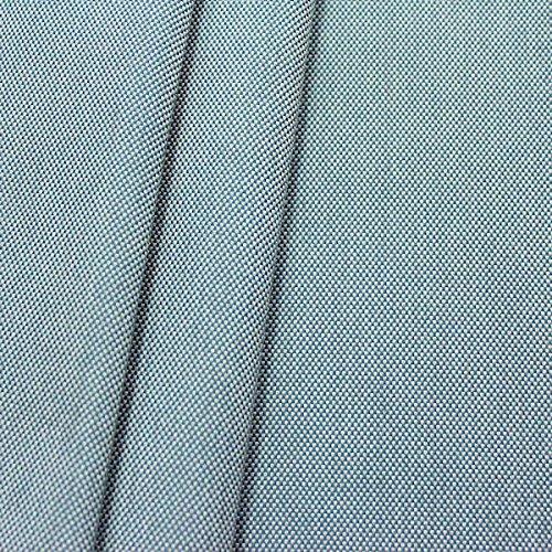 Indoorstoff Outdoorstoff Panama Bindung Meterware Blau-Grau meliert