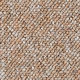 Teppichboden Auslegware Meterware Schlinge orange terra 200, 300, 400 und 500 cm breit, verschiedene Längen