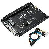 BEYIMEI Adattatore da M.2 NGFF a SATA3, SATA M.2 SSD, M.2 Key B-M SSD a 6G, Supporto M.2 NGFF 2280, 2260, 2242, 2230