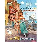 Disney Pixar Luca - Mon livret de gommettes - Livret de gommettes - Dès 3 ans
