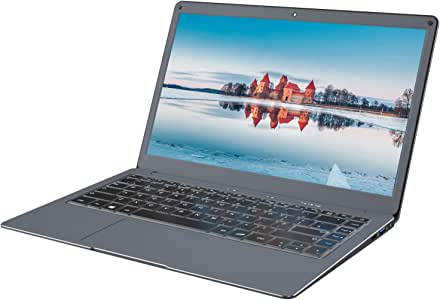 Jumper Laptop X3 8GB RAM 128GB eMMC with 13.3 inch FHD 1080P Ultrabook PC Apollo Lake N3450 Quad core processor Windows 10 computer PC Support M.2 SSD expansion Grey