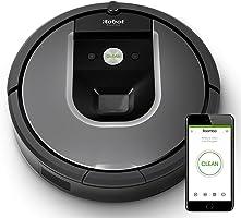 iRobot Roomba 960 - Robot Aspirador Óptimo Mascotas, Succión 5 Veces Superior, Cepillos de Goma Antienredos, Sensores...