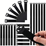 beihuazi® kardborreband kabel kardborreband återanvändbara kardborreband buntband för mångsidig användning i kabelhantering 4