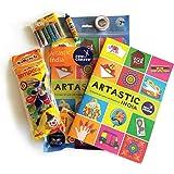 Pidilite Fevicreate Art Kit-Artastic India, Art & Craft Kit, Paper craft DIY Kit for Kids and Adults - Return Gift