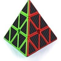 Maomaoyu Pyraminx Cube 3x3 3x3x3 Speed Cube Pyramide Triangle Magique Puzzle Twist Magic Cube Fibre de Carbone…