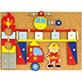 BINO 82197 82197-Hammerspiel, Feuerwehr
