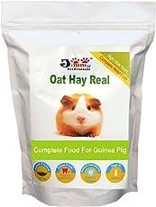 JiMMy Oat Hay Real- High Fiber Pellet for Guinea Pig - 400g