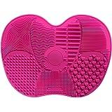 Silikon Make-up-Pinsel Reinigung Matte Saugnäpfen Pinsel Reinigungsmatte Brush Cleaner Kosmetik Pinsel Reinigung…
