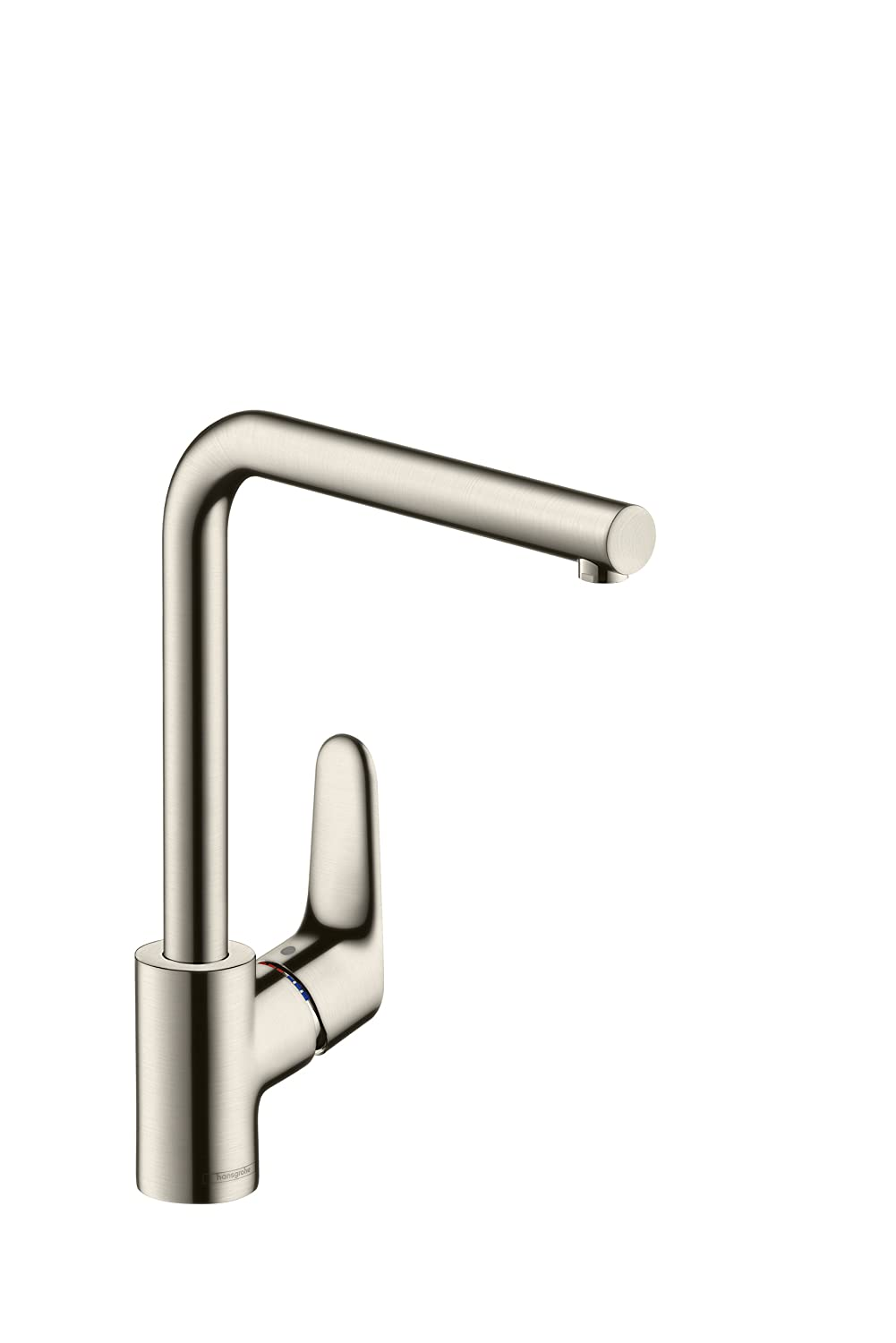 Mixers focus single lever kitchen mixer 260 item no 31820000 - Hansgrohe Focus Kitchen Tap 260 With Selectable Swivel Range Stainless Steel Optic 31820800 Amazon Co Uk Diy Tools