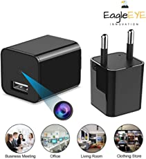 EagleEye 1080P HD USB Wall Charger Hidden Spy Camera