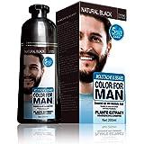 Mokeru Magic beard coloring shampoo for Men Fast Blackening Moustache Hair Dye