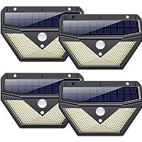 Lampe Solaire Extérieur, 【4Pack-136LED-2000mAh】Trswyop Lumière Solaire Extérieur avec Détecteur de Mouvement led…