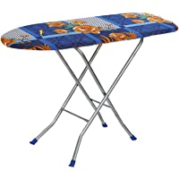 "Flipzon Wooden Self Standing 18"" Unique Folding Ironing Board with Iron Stand - (Color May Vary, Multi-Color) - (Make in…"