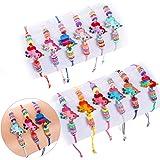 Tacobear 12 Pezzi Braccialetti Amicizia Bambini Braccialetto Unicorno Bracciale Bambina Braccialetti Regolabile Intrecciati p