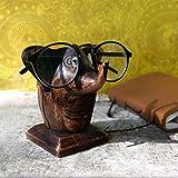 Store Indya, Main classique sculpte Rosewood Elephant en forme de lunettes Porte-Spectacle stands Cadeaux pour lui