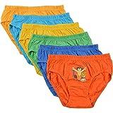 BODYCARE Pure Cotton Multi-Coloured Chhota Bheem Brief for Boys & Kids (Packof6)