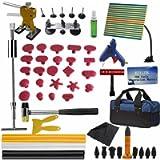 Weylon Full Set PDR Dent Kit Removal Tool Upper Body Slide Hammer Tools with Board