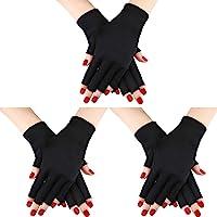 Syhood Guanti da 3 paia di guanti protettivi per guanti anti-UV Guanti anti-UV per guanti protettivi proteggono le mani…