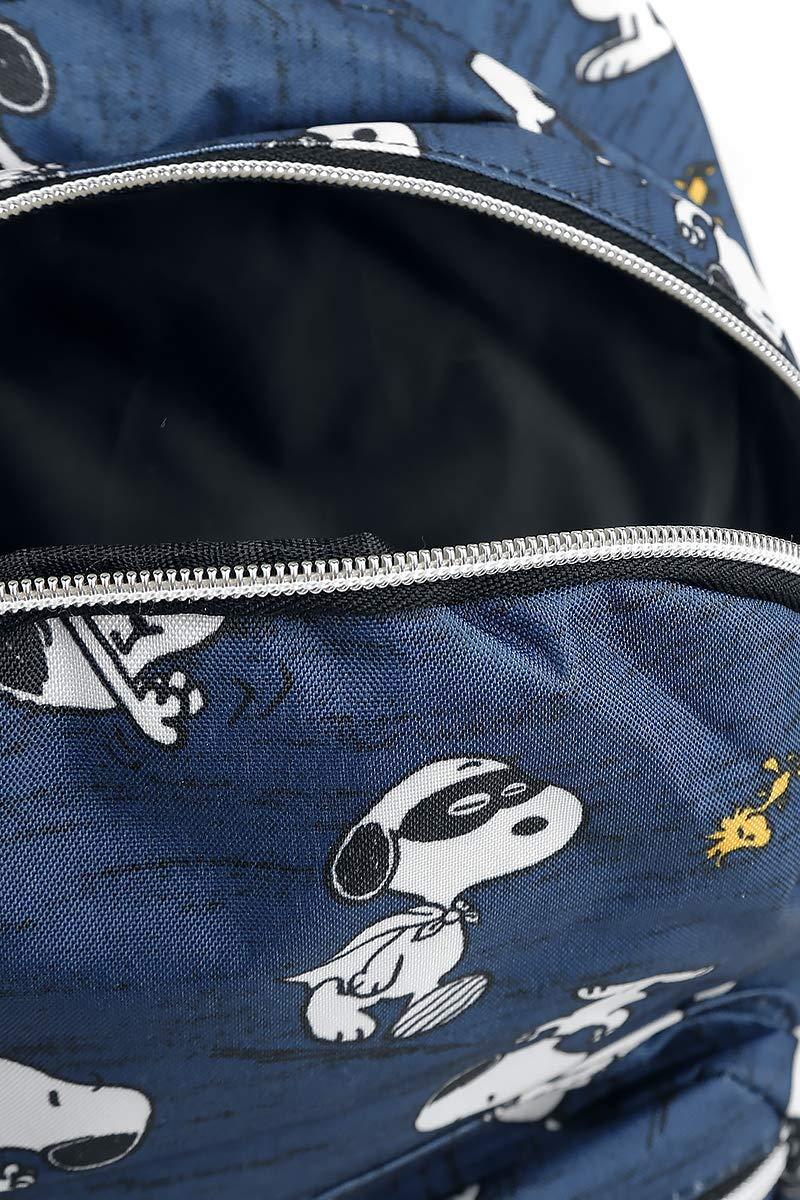 71LpiWYz41L - Peanuts Snoopy Mochila Azul