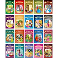 Story Books for Little Kids - Fairy Tales (Illustrated) (Set of 20 books)