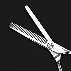 Hmlike Tijeras de peluquer a profesional Tijeras livianas para sal n y Hogar Set de Tijeras de barbero de 6 pulgadas Kit