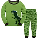 Baby Pijama de algodón niños pequeños niños Pijama Ropa de Dormir Pijama Tiger Set 2-7 años