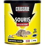 CAUSSADE Casapt10 Souris Pat'Appât Foudroyant 10 Pâtes Très Appètent pour Petit Animal