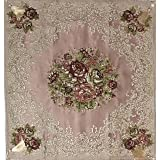 Table top tablecloth embossed embroidery , 2724676317337