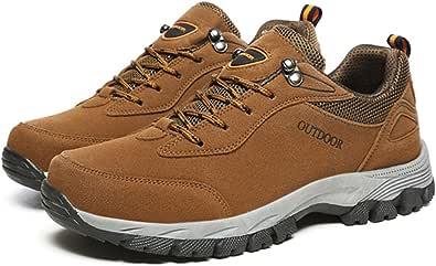 gracosy Uomo Scarpe da Trekking Arrampicata Sportive All'aperto Escursionismo Sneakers Passeggiata Scarpe da Montagna Scarpe da Corsa Sports Esterni Uomo Pattini rampicanti