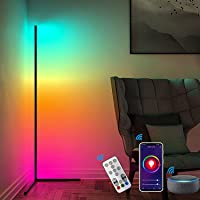 AILRINNI Smart Lampadaire LED Wifi - Moderne Lampadaire RGB avec Télécommande, Support pour Amazon Alexa et Google…