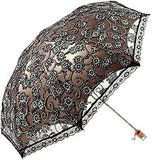 Nimble House ® ™Zero Transmittance Super Prevent Sun Compact Lace Wedding Parasol Folding UV Block Ladies Umbrella