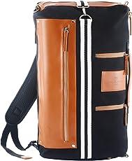 Saint Maniero ® Design Rucksack für Alltag und Uni – Stauraum für Laptop, Leitzordner, Bücher und mehr – wasserabweisendes Material