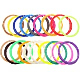HASTHIP® 20Pcs 5M Modeling Stereoscopic ABS Print Filament for 3D Drawing Printer Pen