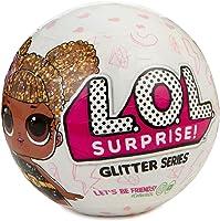 LOL Surprise Glitter, Sfera con Mini Doll a Sorpresa, 7 Livelli, Modelli Assortiti, 1 Pezzo