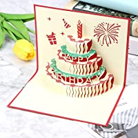 Party Propz Greeting Card for Birthday - Pop Up 3D Birthday Cards - Happy Birthday Card for Girls,Best Friend, Daughter…