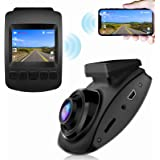 【2021 Nuova Versione】CHORTAU Telecamera per Auto WiFi Full HD 1080P, Dashcam Schermo da 2 pollici 170 ° Grandangolo, Videocam