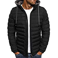 new bapa sitaram Men's Solid Puffer Jacket (2xl, black)