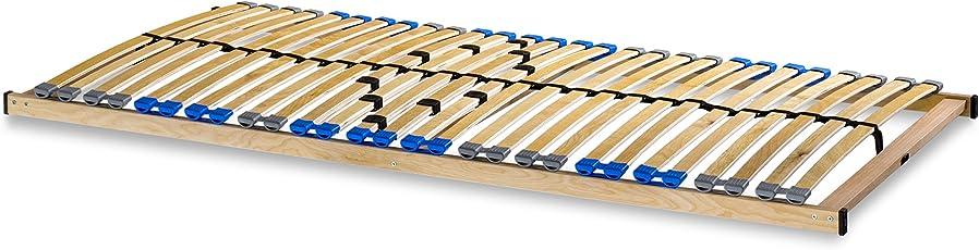 madera 7 Zonen Lattenrost zur Selbstmontage, mit 28 Leisten, extra stabil durch durchgehende Holme
