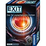 Kosmos 695231 EXIT - Spelet - Grinden mellan världarna, Nivå: Avancerat Escape Room spel, för 1 till 4 spelare från 12 år, un