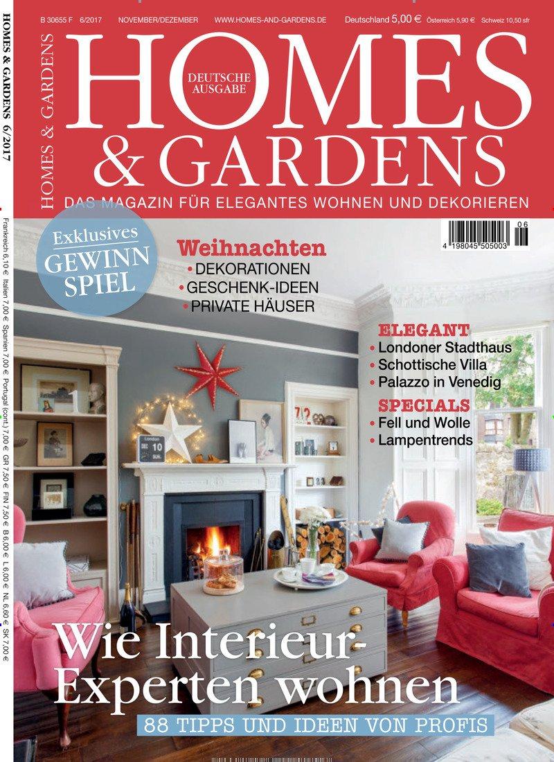 Home And Garden Zeitschrift homes gardens jahresabo amazon de zeitschriften