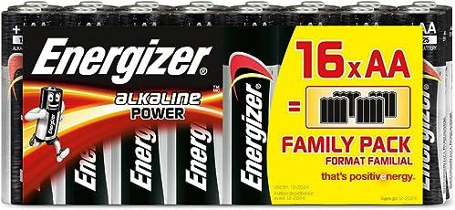 Energizer Batterie Alkaline Power AA (Mignon / LR6 16er Schlauchware)