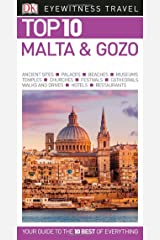 Top 10 Malta and Gozo (DK Eyewitness Travel Guide) Paperback